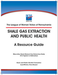 Download the complete 2014 LWVP Shale Resource Guide