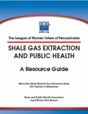 2015 Shale Gas Extraction Study Guide Update
